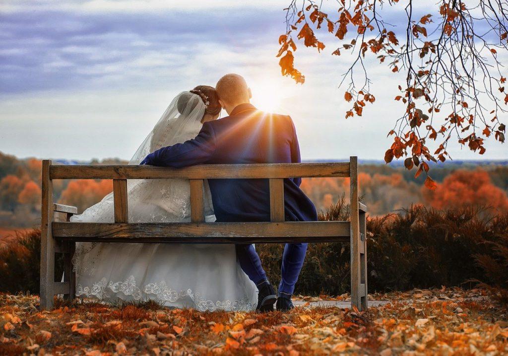 парк, невеста, прогулка, фотосессии, свадьба, свадебная
