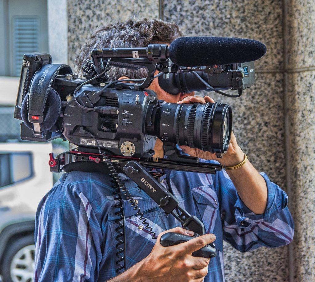 видеокамера, профессионал, видеосьемка, видеооператор, инструмент видеооператора