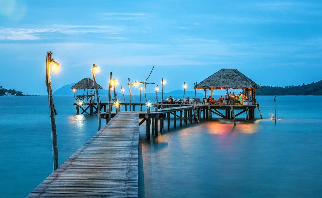 таиланд, океан, причал, свадьба на островах