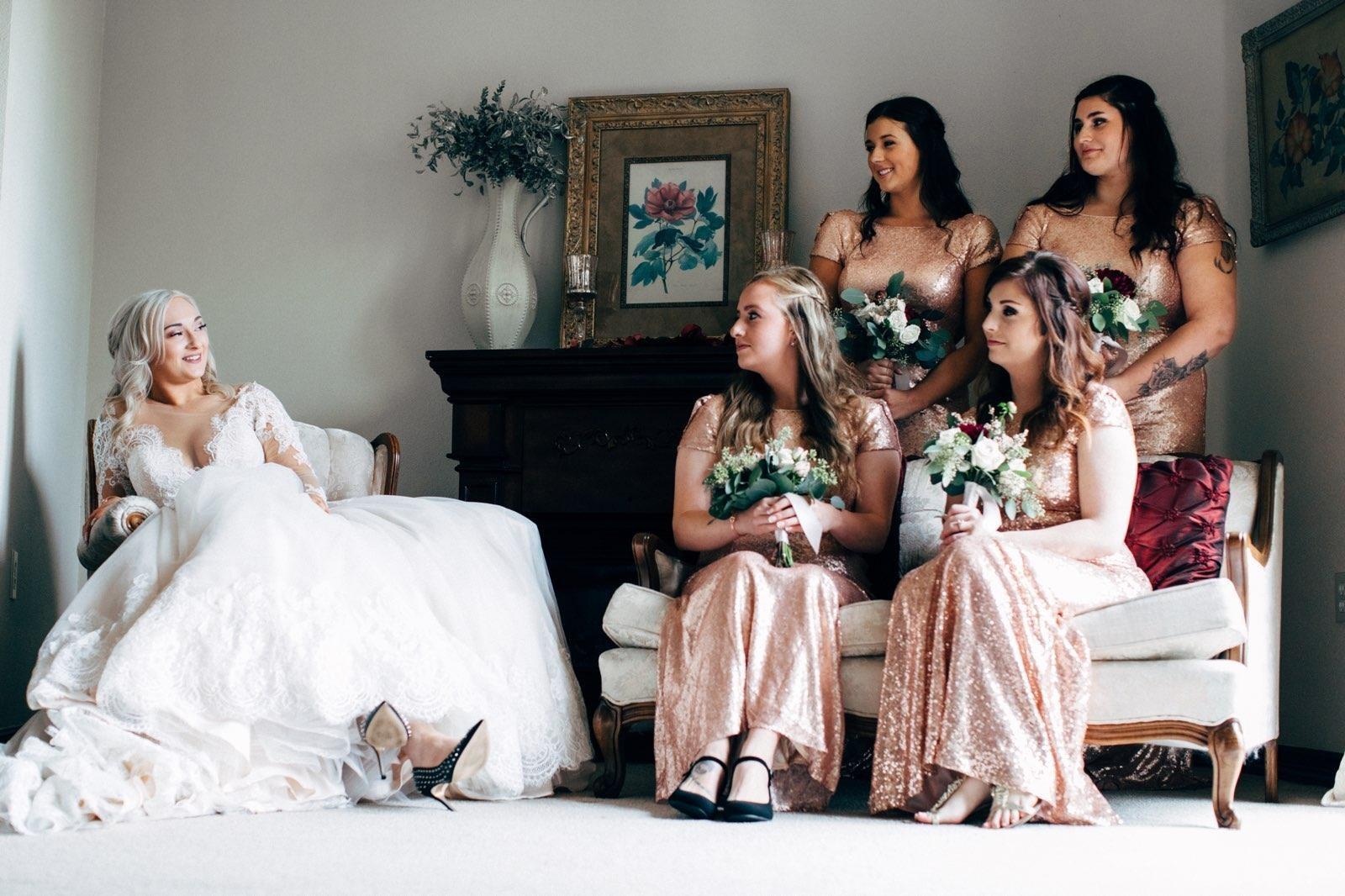 невесты, дружка, подружки невесты