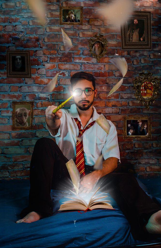темы для свадьбы, организовать тематическую свадьбу, тема Гарри Поттер