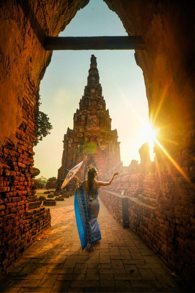 фотосессия, девушка на рассвете, на острове Бали, красота, экзотика
