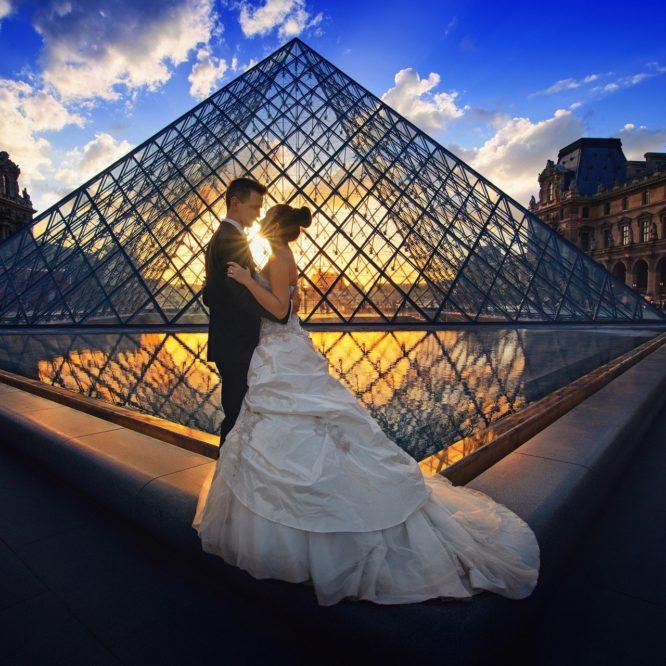 свадьба, невеста, роскошь, медовый месяц, Париж,