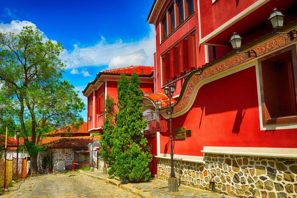 Болгария, поездка, туризм, Старый город, Пловдив